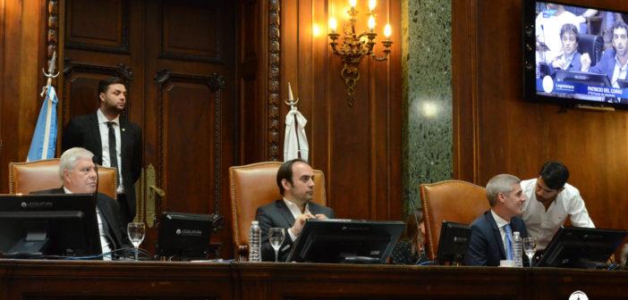 Se aprobó la adhesión al Pacto Fiscal y obras costeras en La Boca