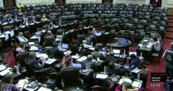 Tarifas: Sesión fallida de la Cámara Baja