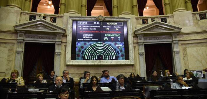 """Media sanción para la""""Ley Micaela"""", nueva herramienta contra la violencia de género"""