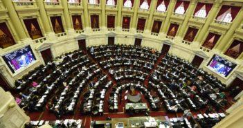 Debate del megaproyecto de emergencia en Diputados