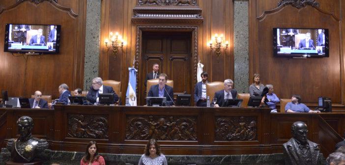 Adhirió la Legislatura a los actos del 1 de Mayo