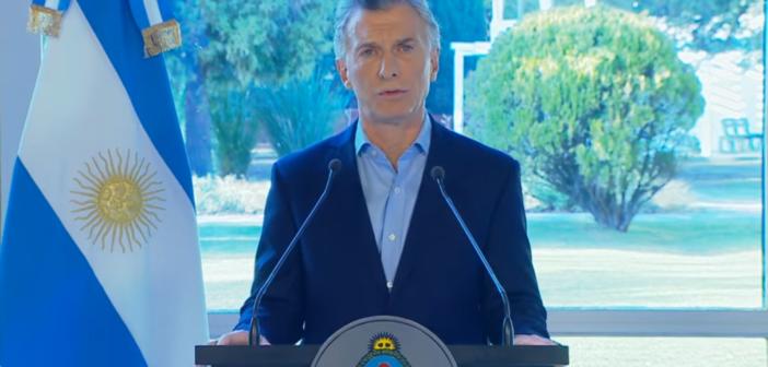 """""""Los entendí"""". Macri anunció medidas económicas"""