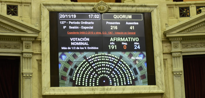 Se comunicaron al Senado proyectos controvertidos como el de góndolas y el de alquileres