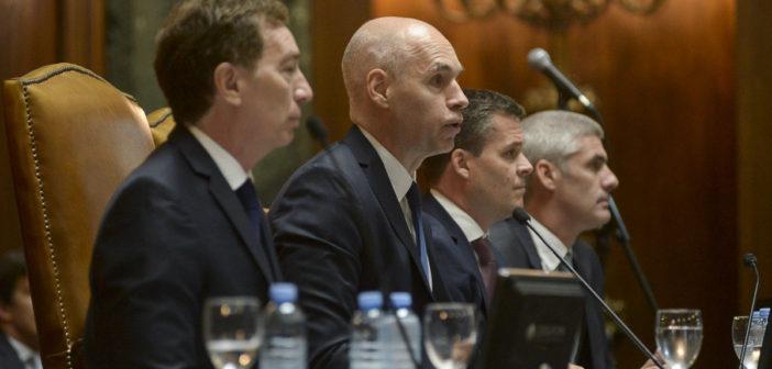 Rodriguez Larreta y Santilli juraron ante la Legislatura