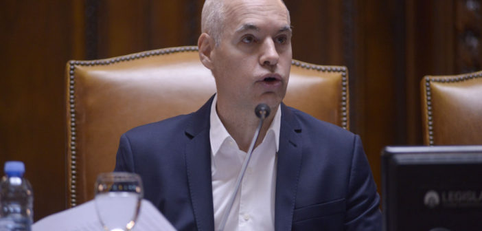 El Jefe de Gobierno inauguró el XXIII Período de Sesiones Ordinarias