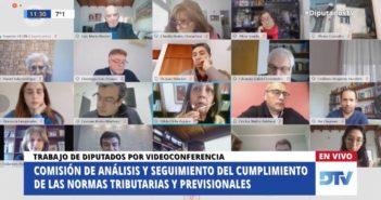LA COMISIÓN DE ANÁLISIS DE LAS NORMAS TRIBUTARIAS Y PREVISIONALES DEFINIÓ UNA AGENDA DE TRABAJO