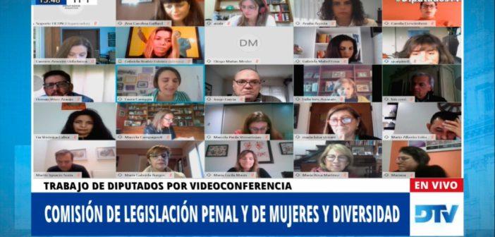 CONTINÚA EL DEBATE SOBRE PROYECTOS DE JUSTICIA PENAL Y GÉNERO
