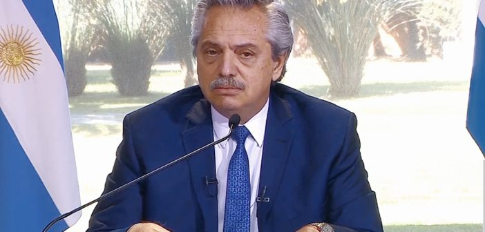 Alberto Fernández: «Hay que acotar lo máximo posible la circulación y el encuentro»
