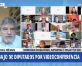 "DANIEL FILMUS: ""ARGENTINA YA NO ES DE USHUAIA A LA QUIACA, SINO DE LA QUIACA AL POLO SUR"""