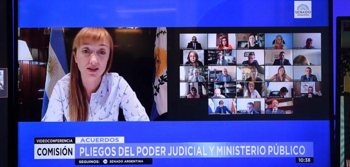SE REALIZÓ LA PRIMERA AUDIENCIA PARA TRATAR PLIEGOS JUDICIALES