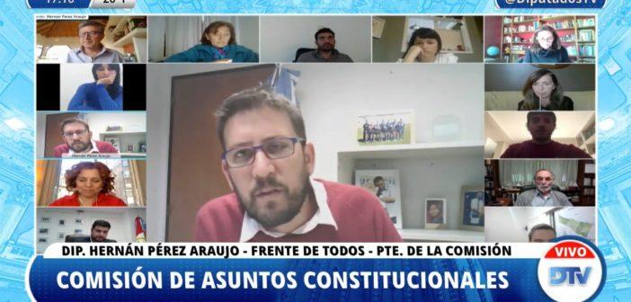 OBTUVO DICTAMEN UNÁNIME EL PROYECTO QUE POSTERGA LAS PASO Y LAS ELECCIONES GENERALES